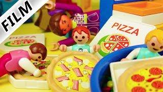 Playmobil Film deutsch EMMA BESTELLT PIZZA IN KITA - Ist sie Pizza süchtig? Kinderfilm Familie Vogel