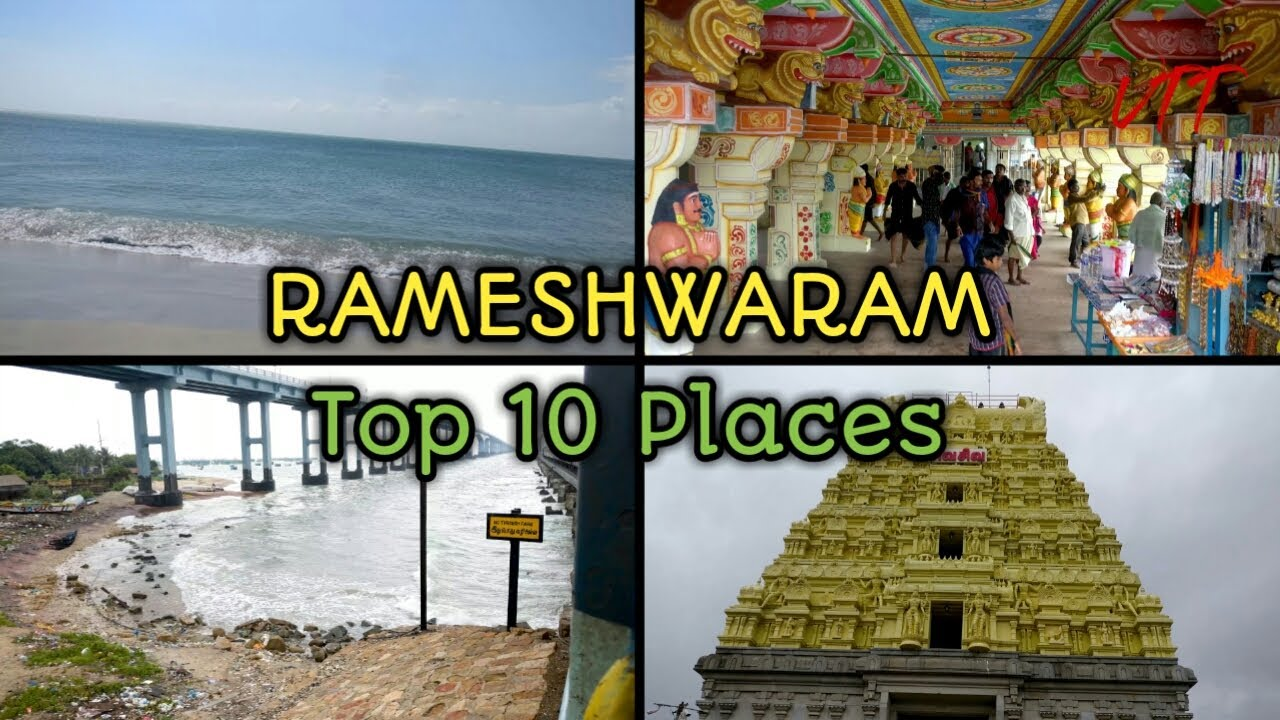 Rameshwaram Top 10 Places to Visit | Rameshwaram Tourist Places