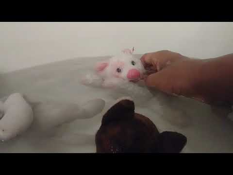 Beanie Babies: swimming cats part 2