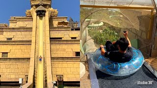 Atlantis Aquaventure - Water Slides & River Rapids POV - Water Park