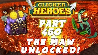 Unlocking The Maw and when to do last transcension in Clicker Heroes