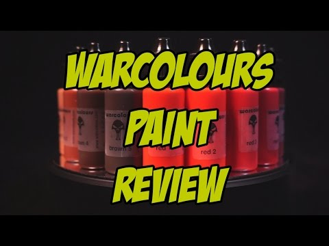 Review: Warcolours Paints - initial thoughts