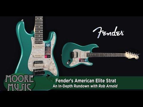 In-Depth Rundown of Fender American Elite Stratocaster Features on