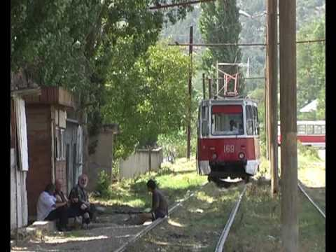 A tramway ride in Tbilisi, the capital of Georgia