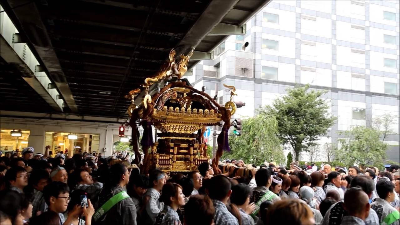 亀戸天神「神社神輿渡御祭」(20...