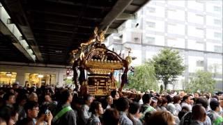 亀戸天神「神社神輿渡御祭」(2016)@四ツ目通り(JR錦糸町駅前)