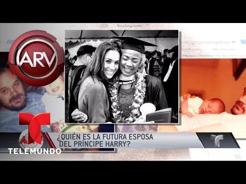Ella es la futura esposa del Príncipe Harry | Al Rojo Vivo | Telemundo