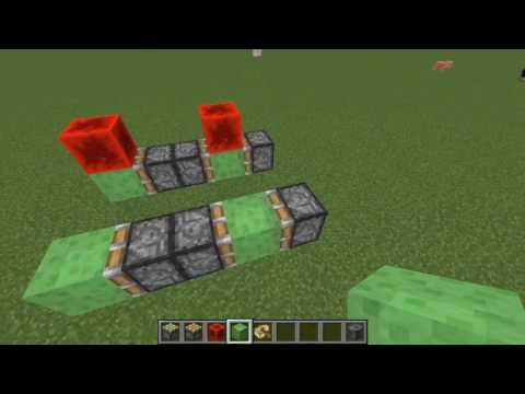How to make a simple redstone barge
