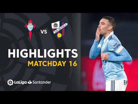 Celta Vigo Huesca Goals And Highlights