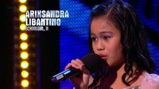 Filipino Singer Arisxandra