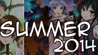 SUMMER ANIME 2014 (ÉTÉ)