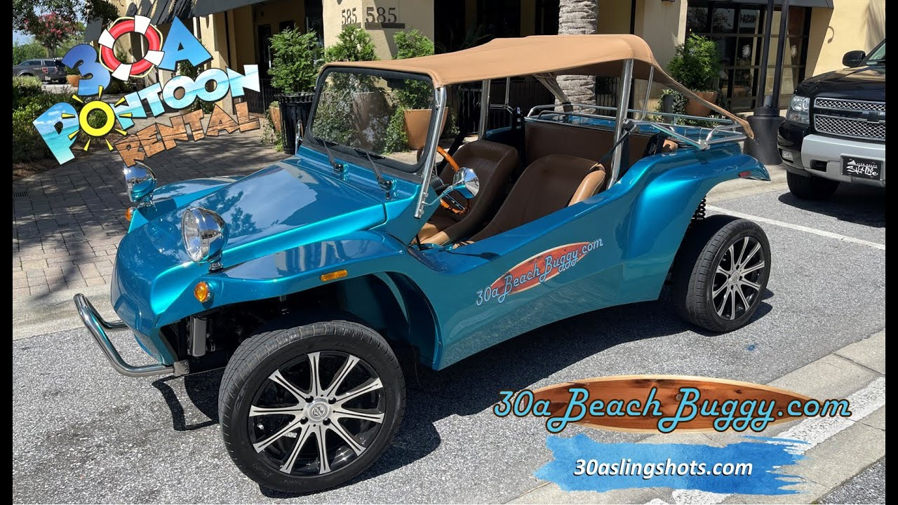 Moke Rentals on 30a?  Golf Cart Rentals on 30a?  Slingshot Rentals 30a?  or Beach Buggy Rentals?