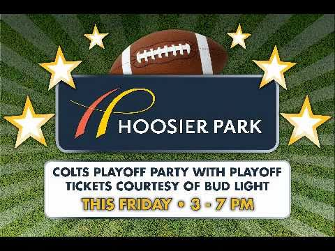 Colts vs. Jets Bud Light Playoff Party at Hoosier Park