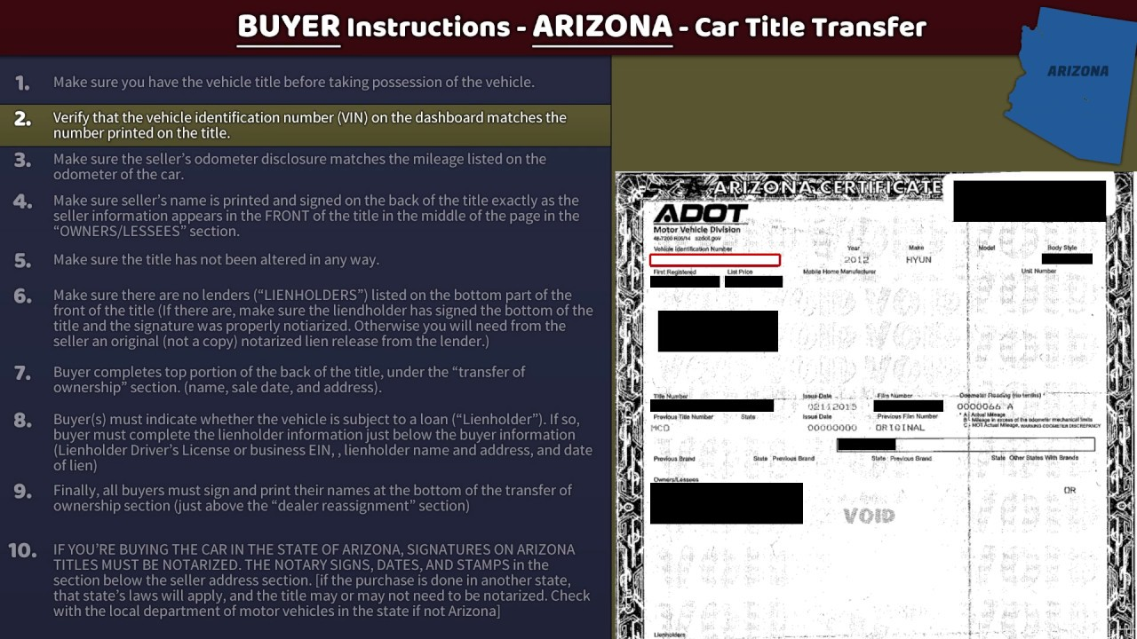 Arizona state department of motor vehicles for Az dept transportation motor vehicle division