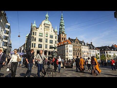 Amagertorv and Strøget pedestrian zone, Copenhagen