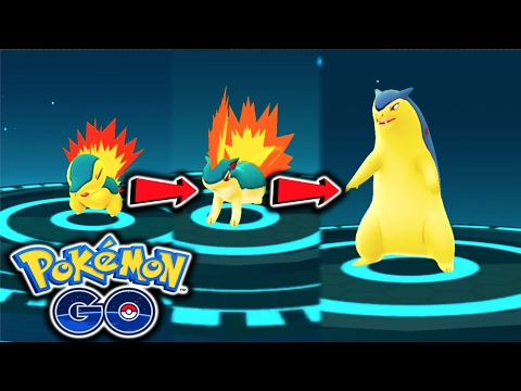 Pokémon GO | Wild Tyranitar 2900 CP + Typhlosion, Donphan, Ursaring & More! Rare Hunting Ep. 21 from YouTube · Duration:  22 minutes 23 seconds