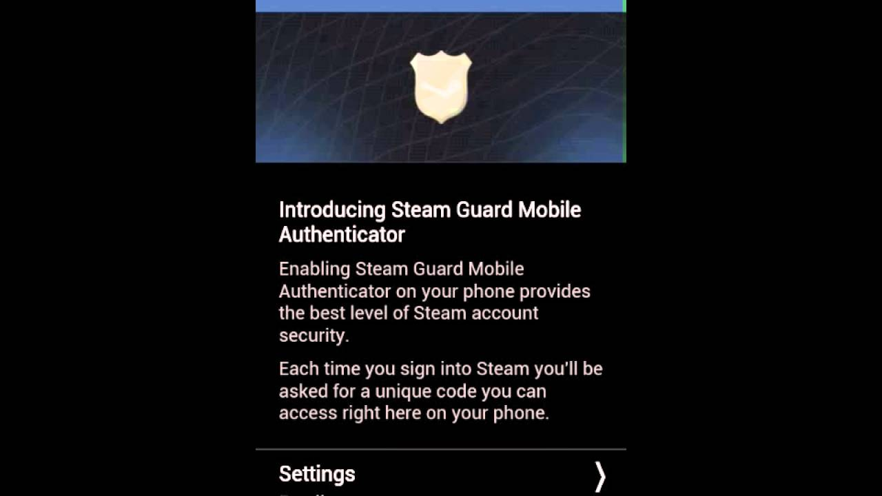 steam mobile authenticator betting websites