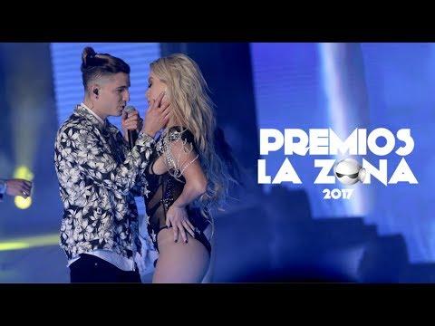 Leslie Shaw y Legarda - Volverte a ver en Premios La Zona 2017│LA ZONA