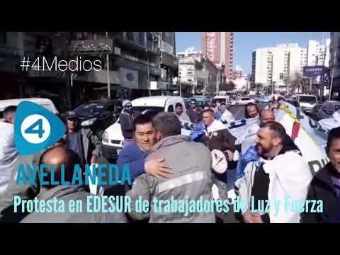 Trabajadores de Luz y Fuerza denuncian que EDESUR no les asigna tareas mientras hay miles de usuarios sin luz