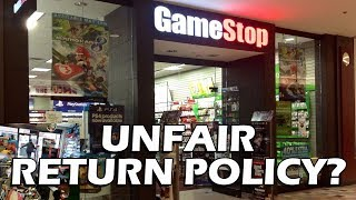 Tales From Retail: Is Gamestop's Return Policy Fair?