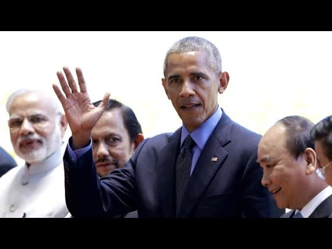 Diplomatic drama as President Obama wraps up Asia trip