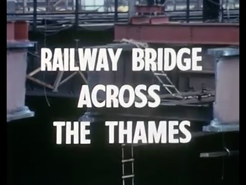 Railway Bridge Across the Thames