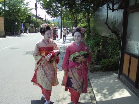Enchanting Back Streets of  Higashiyama area, Kyoto City, Japan