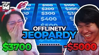 OFFLINETV JEOPARDY ft. DisguisedToast Pokimane LilyPichu Michael Reeves Scarra