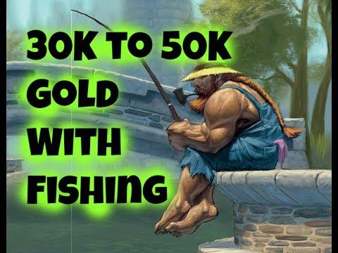 30K Insane Gold Farming With Fishing in Legion