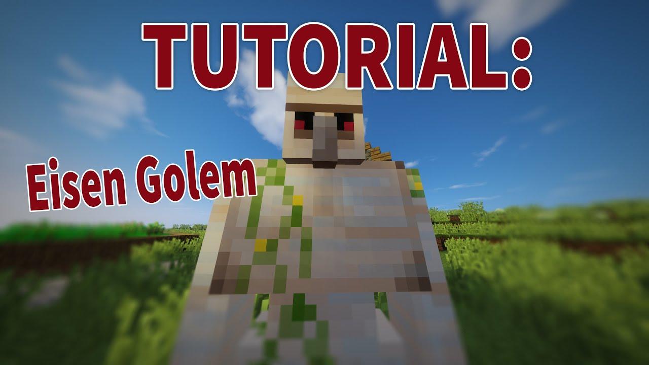 Minecraft Eisengolem Bauen Schneegolem Bauen Minecraft Golems - Minecraft dorfbewohner bauen hauser mod