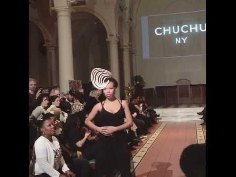 NYFW CHUCHU NY Paper Headpiece