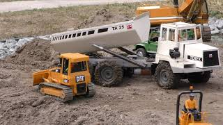 Video still for Terex TA 25 construction site at a lake