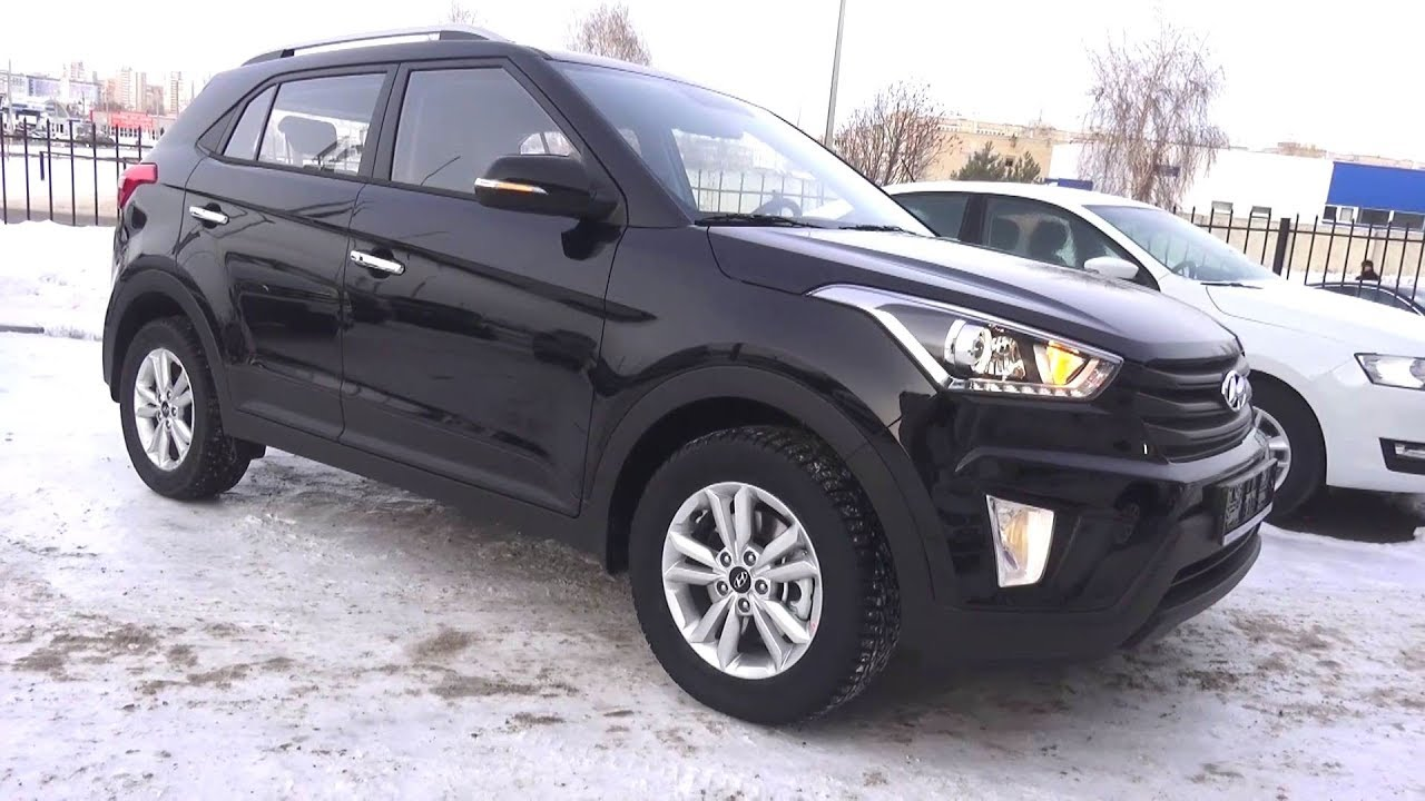 Subcompact Crossover. 2017 Hyundai Creta 4WD. Start Up, Engine, and In Depth Tour.
