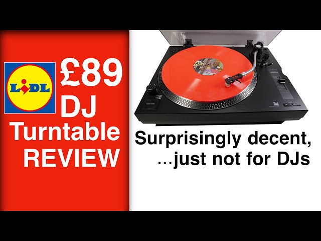 £89 Dual 'DJ Turntable' from LIDL - Full REVIEW