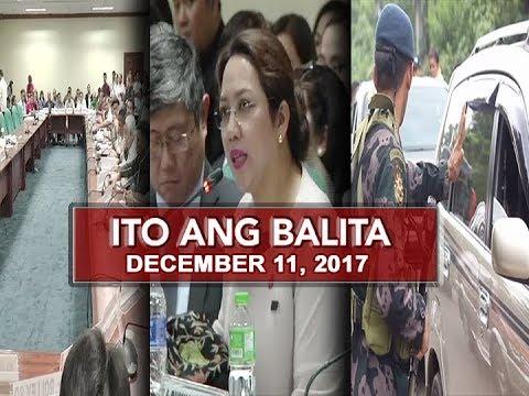 UNTV: Ito Ang Balita (December 11, 2017)