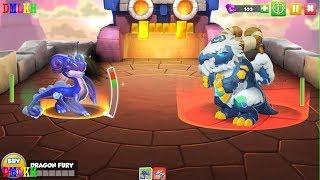 SNOWBALL KING BOSS Battle ,Heroic Mode | Dragon Mania Legends | part 438