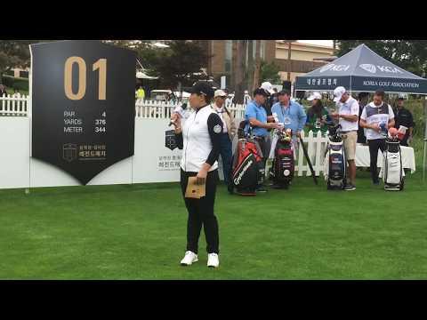박세리와 골프 스타들의 만남_설해원 셀리턴 레전드 매치| 민학수의 All That Golf