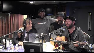 Soaked in Vodka w/ @BertKreischer, @RIchVos, @Sherrod_Small & @BrettMorgen - @OpieRadio