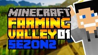 Zaczynamy sezon 2! #1 Minecraft: Farming Valley  Modpack Sezon 2