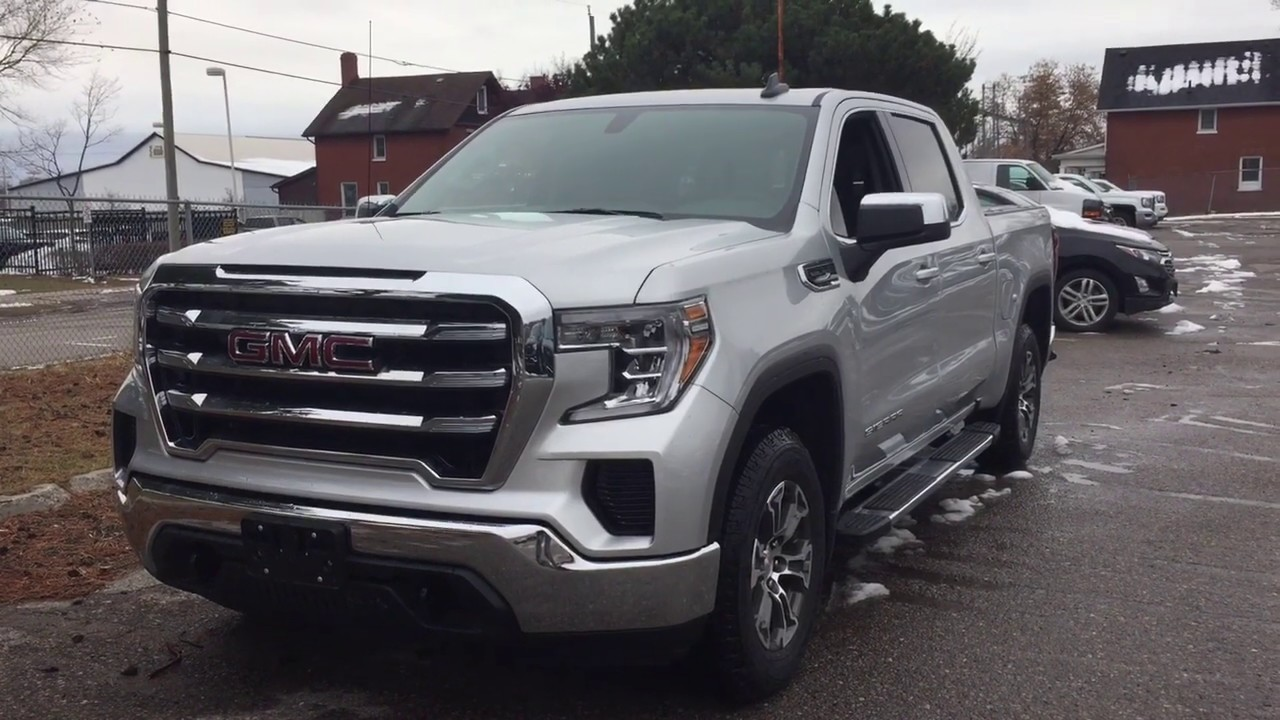 2020 Gmc Sierra 1500 4wd Crew Cab Sle Power Tailgate Heated Front