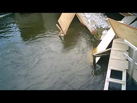 Newton Creek Bridge demolished