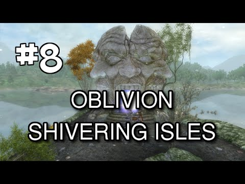 Oblivion Modded S2 (Shivering Isles DLC Walkthrough) Let's Play [Part 8] - Highcross and Hale