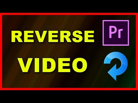 How to Reverse a video clip in Premiere Pro 2020 - Tutorial thumbnail