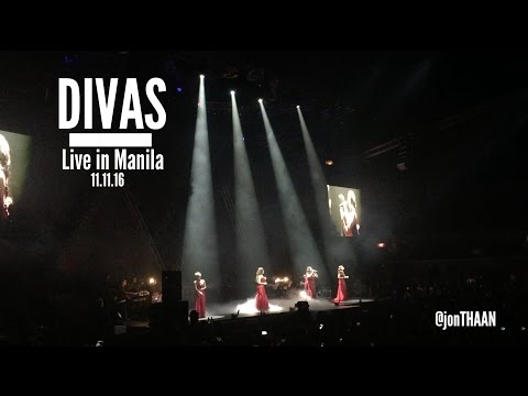 Divas: Live In Manila 11.11.16 FULL CONCERT (KZ Tandingan, Kyla, Angeline Quinto, Yeng Constantino)