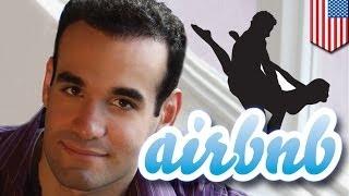 Сайт AirBNB сдал квартиру в Манхеттене групповой оргии(Нью-йоркский комик Эйри Тиман, сдавший свою квартиру через сайт AirBNB, обнаружил, что вместо почтенного семей..., 2014-03-20T15:32:30.000Z)