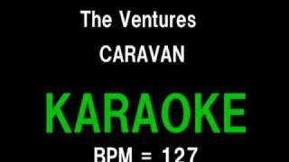 The Ventures CARAVAN (GUITAR KARAOKE)