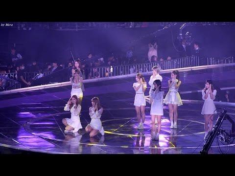 161226 트와이스 (TWICE) 무대준비중 방송사고 [전체]  직캠 Fancam (2016 가요대전) by Mera