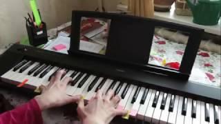 Как играть красивую мелодию двумя руками. Продолжение.