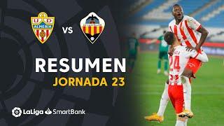 Resumen de UD Almería vs CD Castellón (3-1)