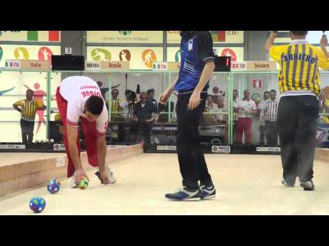 Gianinazzi - Capeti, Individual World Bocce Championships Juniors Final Rome 2015